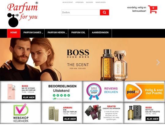 Parfum For You Logo